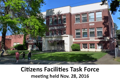 CItizens Facilities Task Force - school exterior